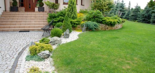 Ogród wykonany przez firmę GARDENIA